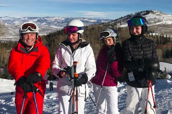 Billy Bush's daughters, Lillie Bush, Mary Bradley Bush and Josie Bush