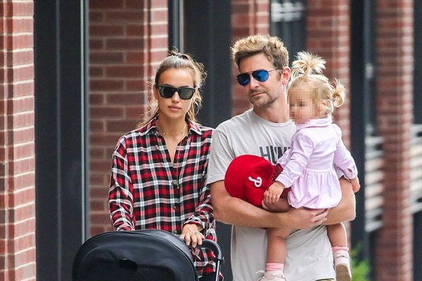 Bradley Cooper and his daughter, Lea De Seine