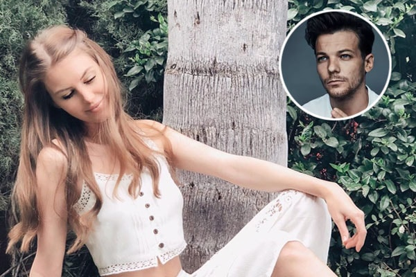 Briana Jungwirth and former partner, Louis Tomlinson