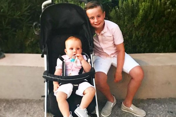 Chanelle Hayes' sons Blakely Hayes-Bates and Frankie Edward Oates