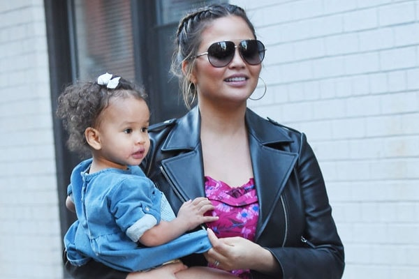 Chrissy Teigen and John Legend's daughter Luna Simone Stephens