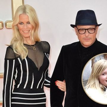 Meet Cosima Violet – Photos of Claudia Schiffer's Daughter With Husband Matthew Vaughn