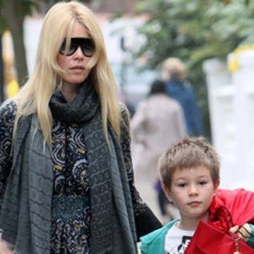 Meet Caspar Matthew De Vere Drummond – Claudia Schiffer's Son With Husband Matthew Vaughn