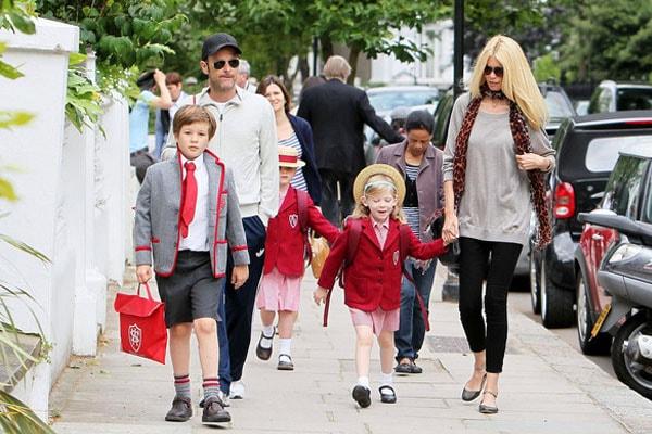 Claudia Schiffer's family