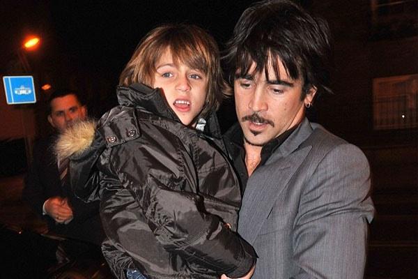 Colin Farrell's son James Padraig Farrell