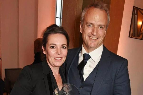 Olivia Colman and husband Ed Sinclair