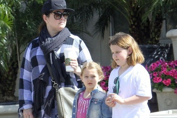 Georgette Falcone and Vivian Falcone are the daughters of Melissa McCarthy