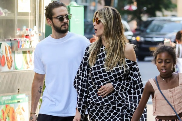 Heidi Klum's daughter Lou Sulola Samuel and boyfriend Tom Kaulitz