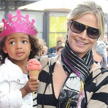 Meet Lou Sulola Samuel – Photos of Heidi Klum's Daughter With Ex-Husband Seal