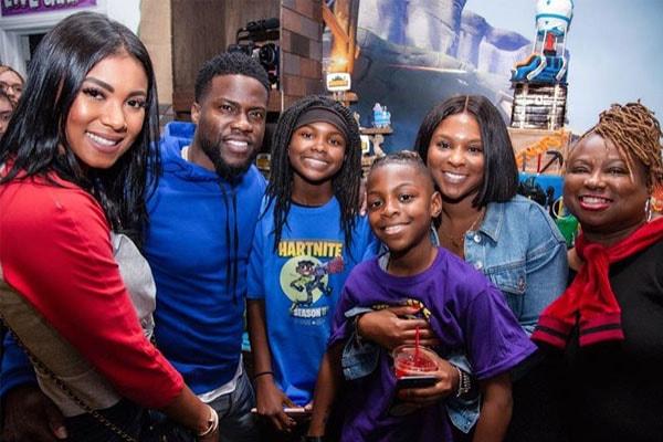Hendrix Hart's family
