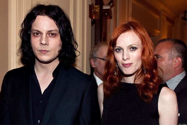 Jack White and wife Karen Elson