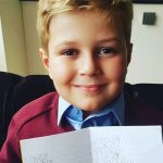 Jennifer Ellison's son Bobby Tickle