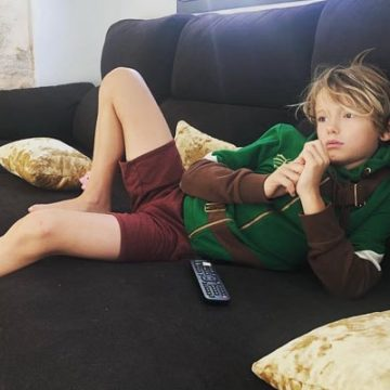 Meet Caspar J. Thrupp – Photos of Jenny Frost's Son With Ex-Fiance DJ Dominic Thrupp