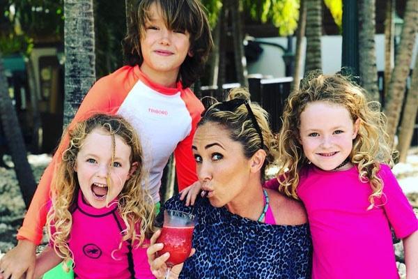Jenny Frost's children