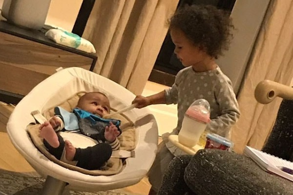 John Legend's children, Miles Theodore Stephens and Luna Simone Stephens