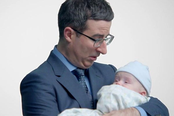 John Oliver's youngest son