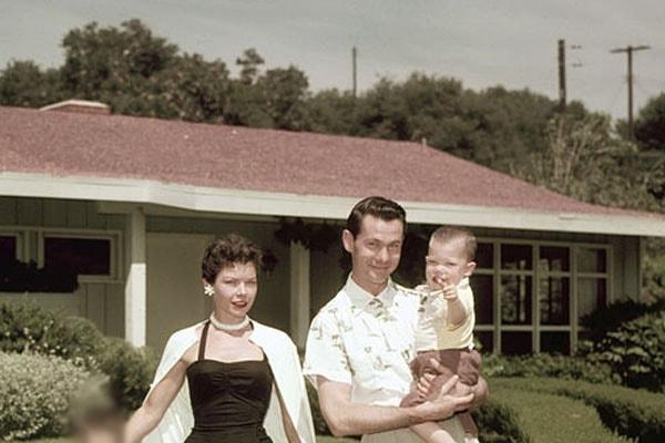 Cory Carson, son of Johhny Carson and Jody Carson