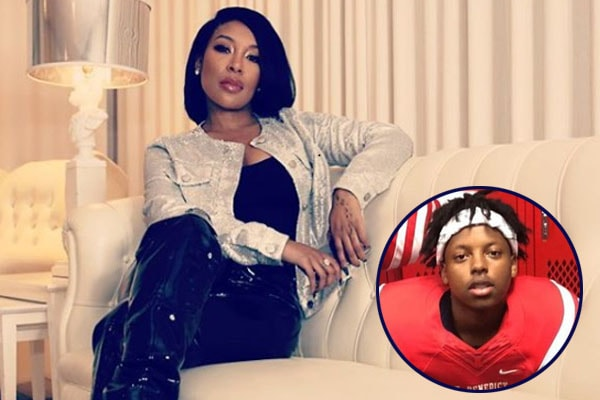 Chase Bowman, son of K. Michelle