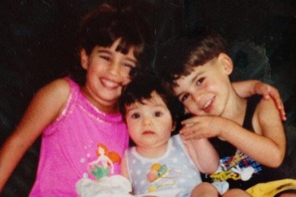 Lauren Jaregui and her siblings