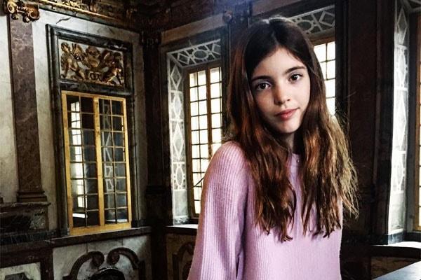Stephanie Seymour's daughter, Lilly Margaret Brant