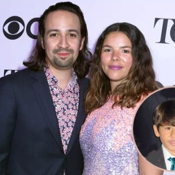 Meet Sebastian Miranda – Photos of Lin-Manuel Miranda's Son with Wife Vanessa Nadal