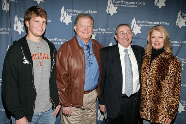 Mary Hart with son Alec Jay Sugerman and husband Burt Sugerman