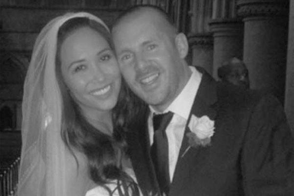 Myleene Klass and ex-husband Graham Quinn