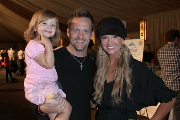 Nancy O'Dell's daughter Ashby Grace Zubulevich and ex-husband Keith Zubulevich