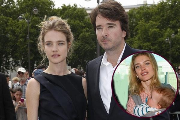Natalia Vodianova's son Roman Arnault