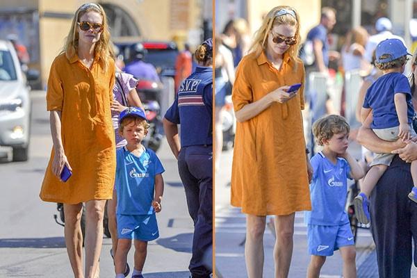 Natalia Vodianova's son Maxim Arnault