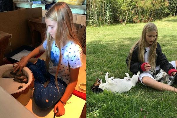 Justin Portman and Natalia Vodianova's Daughter Neva Portman