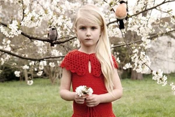 Natalia Vodianova's daughter Neva Portman