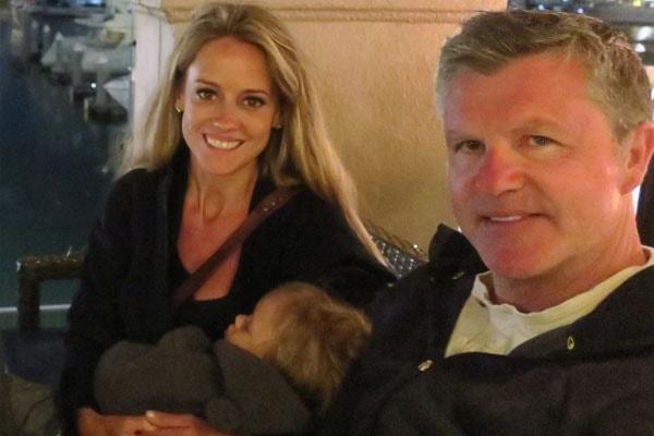 Nicole Curtis' son Harper and ex Shane Maguire