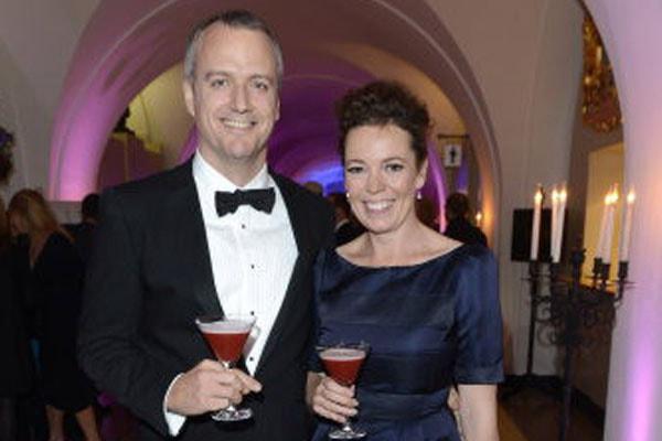 Ed Sinclair, Olivia Colman's husband