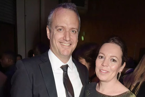 Olivia Colman with husband Ed Sinclair