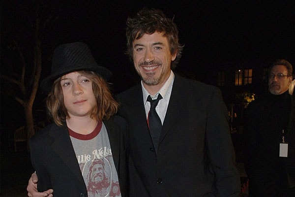 Robert Downey Jr. and son Indio Falconer Downey
