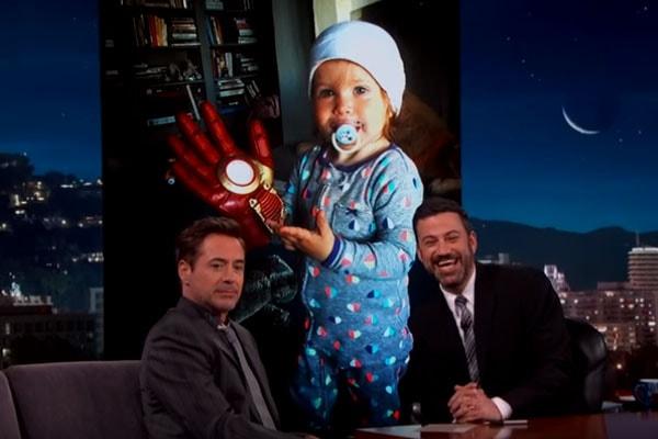 Robert Downey Jr. has got a daughter named Avri Roel Downey