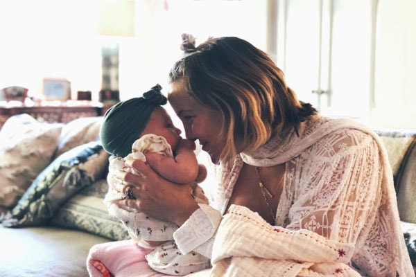 Rani Rose with mother Kate Hudson