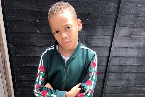 Jourdan's son, Riley Dunn