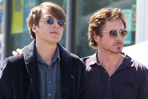 Indio Falconer Downey, son of Robert Downey Jr.