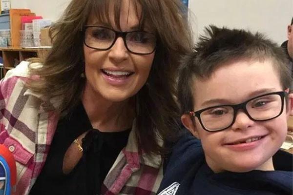 Todd Palin and Sarah Palin's son Trig Palin