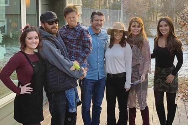 Sarah alin's family and daughter Piper Palin