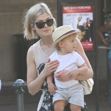 Meet Solo Uniacke – Photos of Rosamund Pike's son with Partner Robie Uniacke