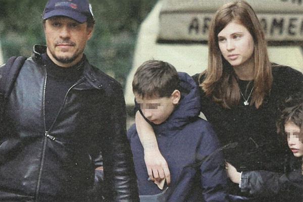 Stefano Accorsi's daughter Athena
