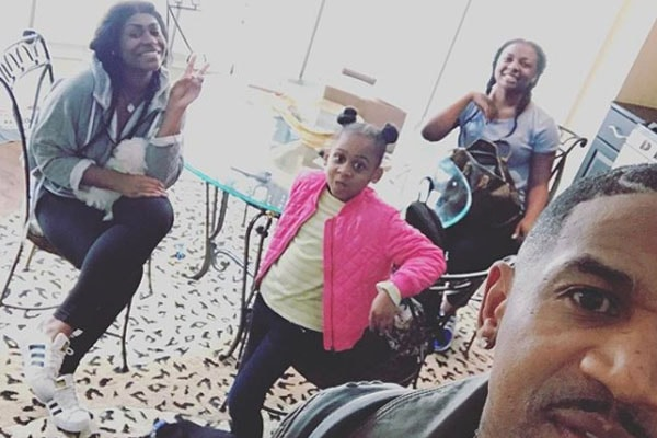 Stevie J's daughters Sade Jordan, Savannah Jordan, Eva Giselle Jordan
