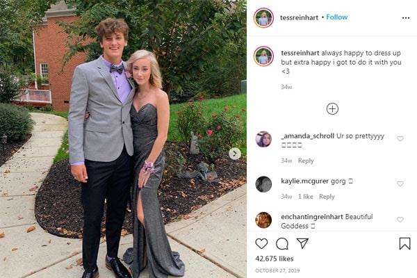 Tess Reinhart's boyfriend