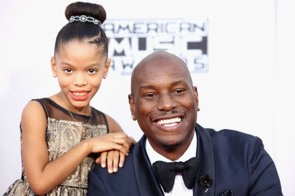 Tyrese Gibson's daughter Shayla Somer Gibson