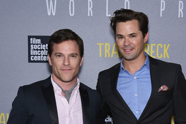 Andrew Rannells and Mike Doyle