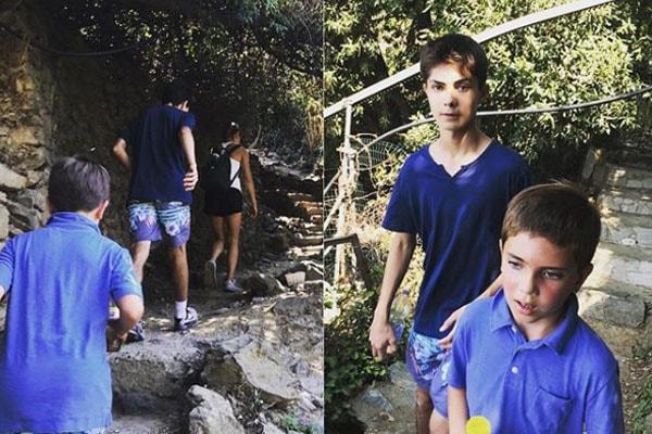 Natalie Morales' children Luke Hudson Rhodes and Joseph Stockton Rhodes