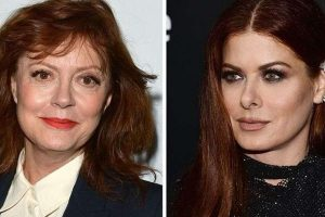 Debra Messing and Susan Sarandon